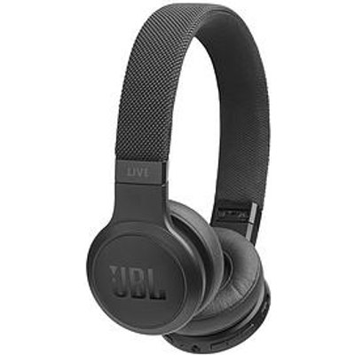Jbl Jbl Live400, On-Ear Wireless Headphones,Detachable Cable With One-Button Remote Control, Fabric Cable, Google Assistant