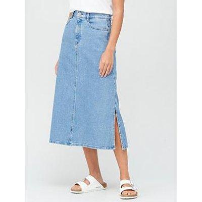 Boss A-Line Skirt - Light Blue
