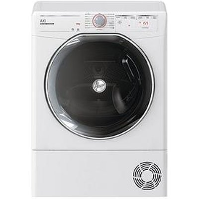Hoover Axi Atd C10Tkex, 10Kg Load, Heat Pump Tumble Dryer - White / Tinted Door