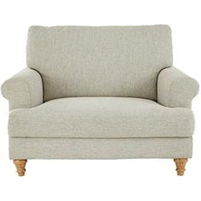 Henley Fabric Cuddle Armchair