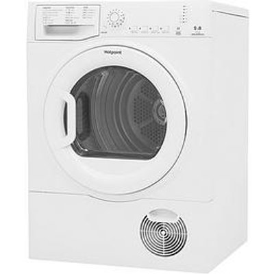 Hotpoint Tcfs83Bgp 8Kg Load Condenser Tumble Dryer - White