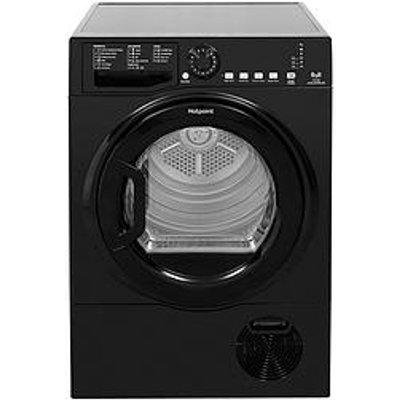 Hotpoint Tcfs83Bgk 8Kg Load Condenser Tumble Dryer - Black