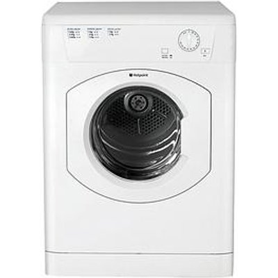 Hotpoint Fetv60Cp 6Kg Load, Vented Tumble Dryer - White