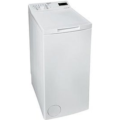 Hotpoint Wmtf722Uukn 7Kg Load, 1200 Spin Top-Loading Washing Machine - White
