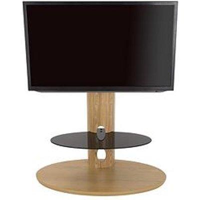 Avf Chepstow Combi 930 Tv Unit- Oak/ Black Glass - Fits Up To 65 Inch Tv