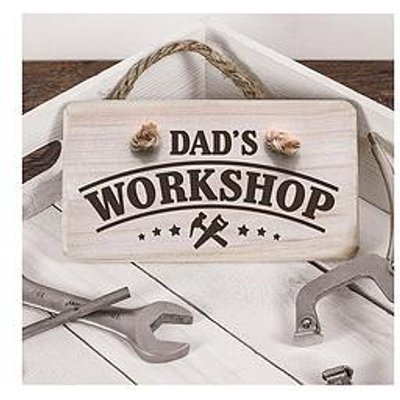 Personalised Wooden Workshop Sign