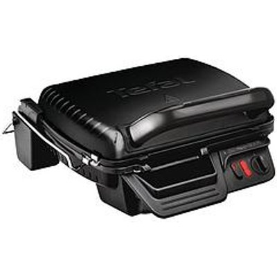 Tefal Ultra Compact 3-In-1 Gc308840 Health Grill - 6 Portions / 2000W