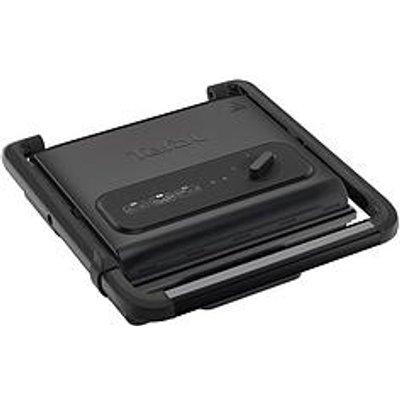Tefal Inicio Adjust Gc242840 Versatile, Health Grill, 2000W, 6-8 Portions - Black