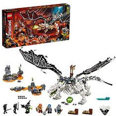 Lego Ninjago 71721 Skull Sorcerer'S Dragon 2In1 Build &Amp; Board Game