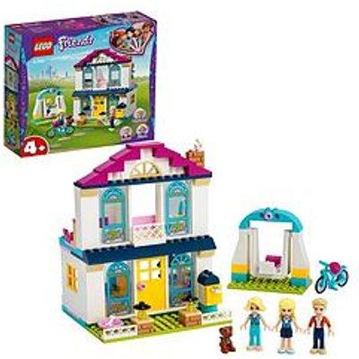 Lego Friends 41398 4+ Stephanie'S House Doll House With Family Figures