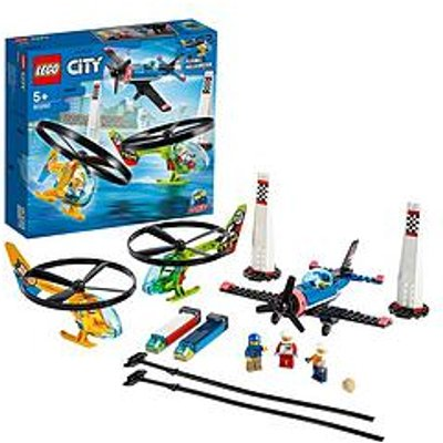 Lego City 60260 Airport Air Race Plane &Amp; Helicopters