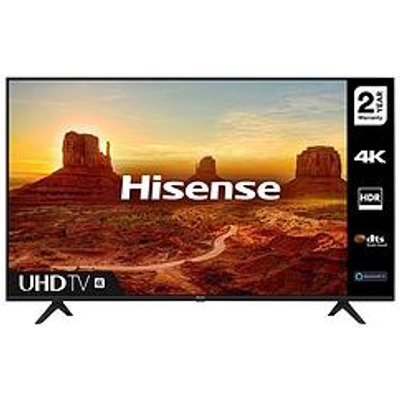 Hisense H43A7100Ftuk 43 Inch, 4K Ultra Hd, Hdr, Freeview Play Smart Tv