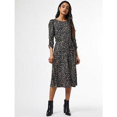 Dorothy Perkins Petites Black Willow Jersey Smock Dress - Black