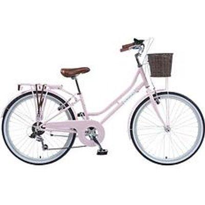 Viking Viking Belgravia Girls Traditional Heritage 20 Inch Wheel 6 Speed Bike Pink