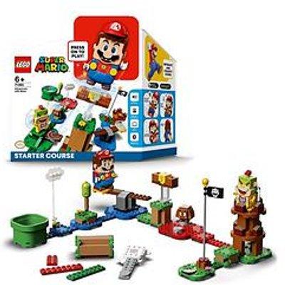 Lego Super Mario 71360 Adventures With Mario Starter Course Interactive Toy Game