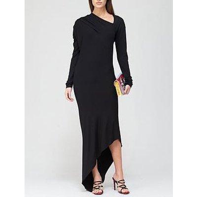 Vivienne Westwood Timans Draped Jersey Dress - Black