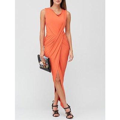 Vivienne Westwood Vian Draped Jersey Dress - Orange
