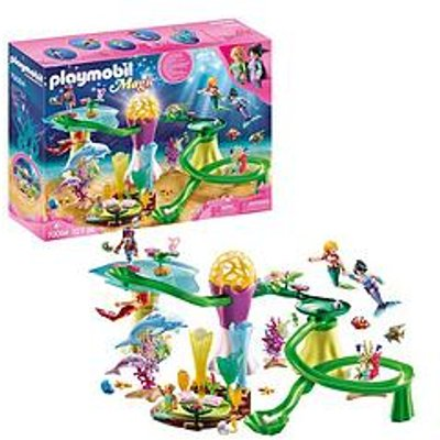 Playmobil Playmobil 70094 Magic Mermaids Coral Marble Run With Illuminated Dome