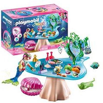 Playmobil Playmobil 70096 Magic Mermaids Beauty Salon With Pearl Case