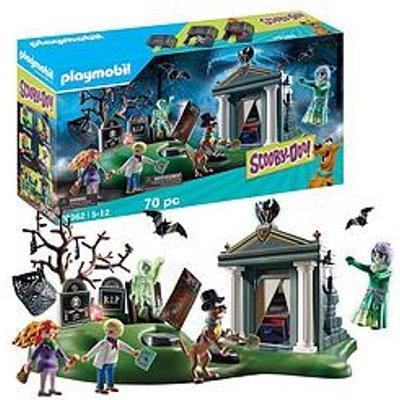 Playmobil Playmobil 70362 Scooby Doo!© Adventure On The Cemetery