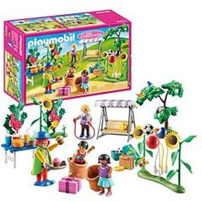 Playmobil Playmobil 70212 Dollhouse Children'S Garden Birthday Party