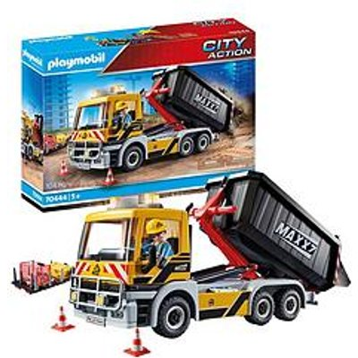 Playmobil Playmobil 70444 City Action Construction Truck With Tilting Trailer