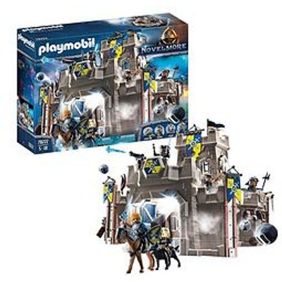 Playmobil 70222 Novelmore Knights Castle Fortress With Stone Thrower And Water Cannon