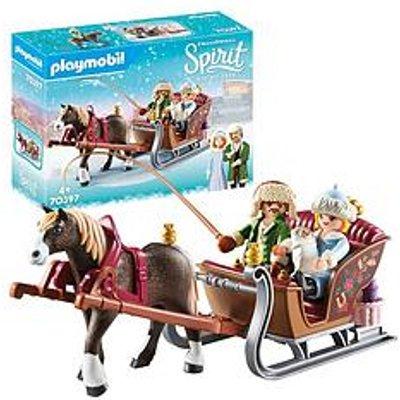 Playmobil Dreamworks Spirit© 70397 Winter Sleigh Ride By Playmobil