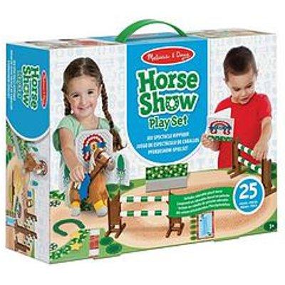 Melissa & Doug Horse Show Play Set Train & Jump