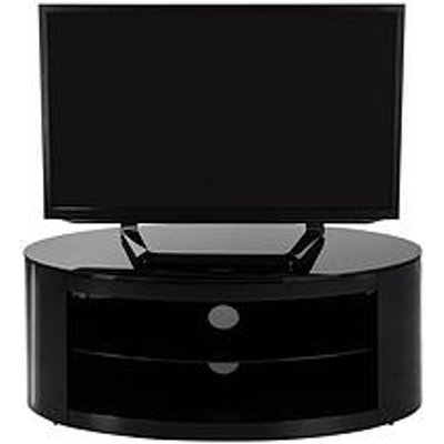 Avf Buckingham Oval Affinity 1100 Tv Stand - Black - Fits Up To 55 Inch Tv