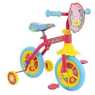 Peppa Pig 2-In-1 10-Inch Training Bike