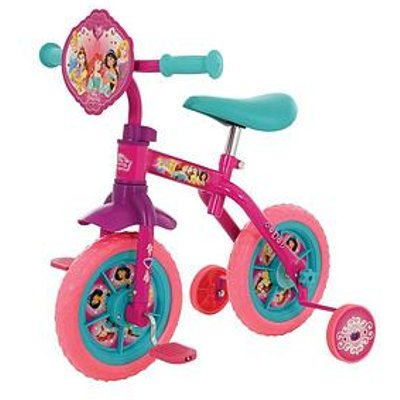 Disney Princess Disney Princess 2-In-1 10Inch Training Bike