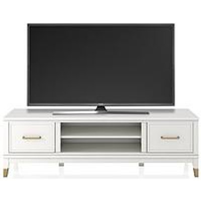 Cosmoliving By Cosmopolitan Westerleigh Tv Stand - White - Fits Up To 65 Inch