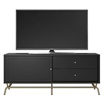 Cosmoliving By Cosmopolitan Nova Tv Stand- Black - Fits Up To 65 Inch Tv