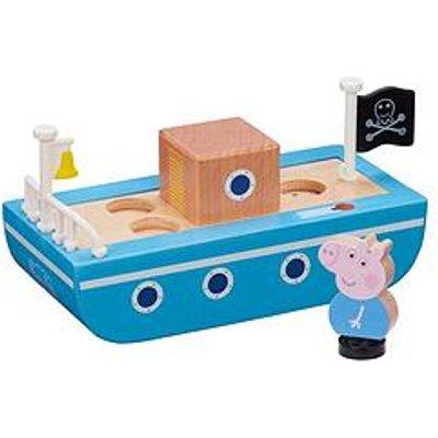 Peppa Pig Peppas Wood Play Boat & Figure