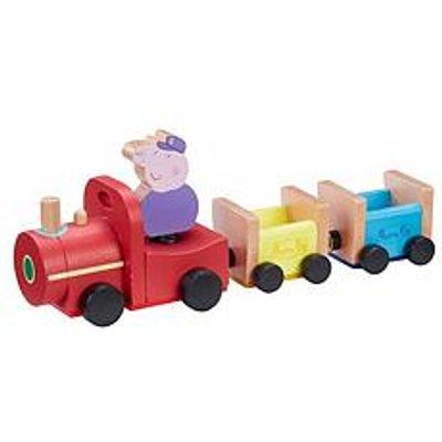 Peppa Pig Peppas Wood Play Train & Figure