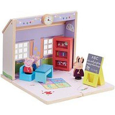 Peppa Pig Peppas Wood Play Schoolhouse
