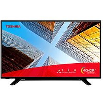 Toshiba 43Ul2063Db, 43 Inch, 4K Ultra Hd, Hdr, Freeview Play, Smart Tv