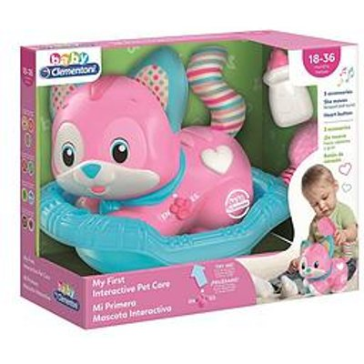 Baby Clementoni Interactive Pet Care - Pink Version