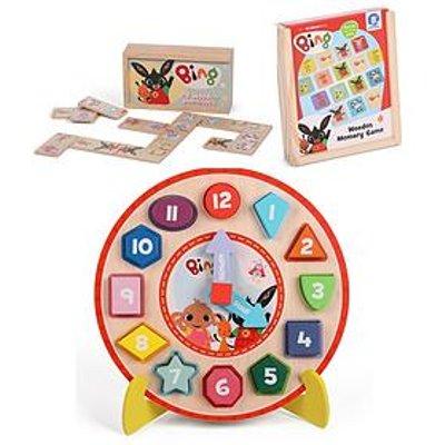 Bing Bing Puzzzle Clock Dominoes Memory Game