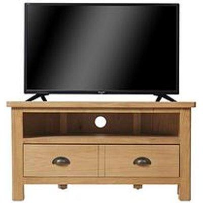 K-Interiors Shelton Ready Assembled Corner Tv Unit - Fits Up To 42 Inch Tv