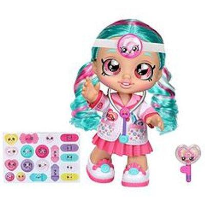 Kindi Kids Kindi Kids Dr Cindy Pops 10 Inch Toddler DollAnd 2 Shopkin Accessories