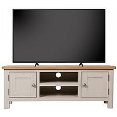 K-Interiors Fontana Ready Assembled Large Tv Unit - Fits Up To 52 Inch Tv
