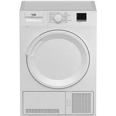 Beko Beko Dtlce80051W 8Kg Condenser White Dryer