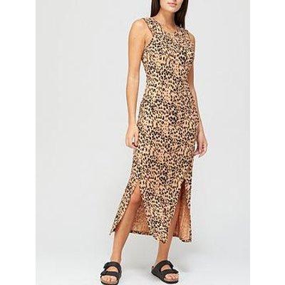 Whistles Animal Printed Jersey Dress - Animal