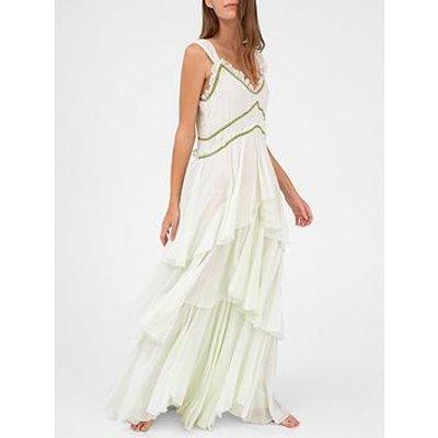 Pitusa Spanish Maxi Dress - White