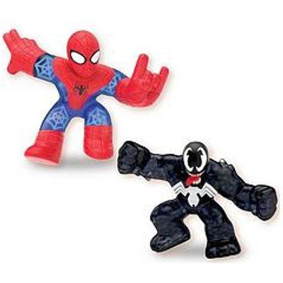 Heroes Of Goo Jit Zu Heroes Of Goo Jit Zu Marvel Versus Pack - Spiderman Vs Venom