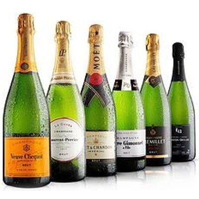 Virgin Wines Premium 6 Bottle Champagne Selection 75Cl
