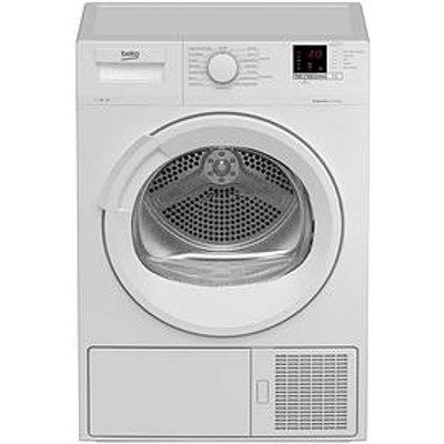 Beko Dtlp71151W 7Kg Condenser Dryer With Heat Pump - White