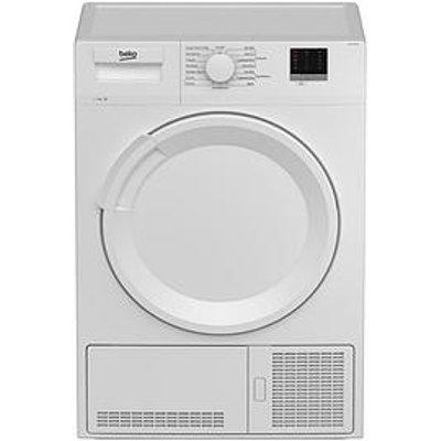 Beko Dtlce70051W 7Kg Load, Full Size Condenser Sensor Dryer - White